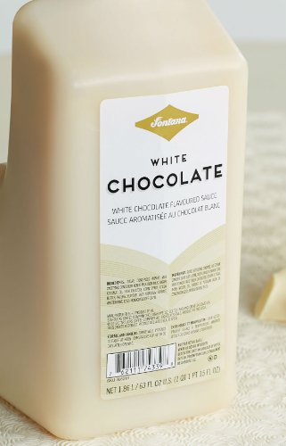 Fontana White Chocolate Mocha Sauce, 63 fl oz (Chocolate Sauce Coffee compare prices)