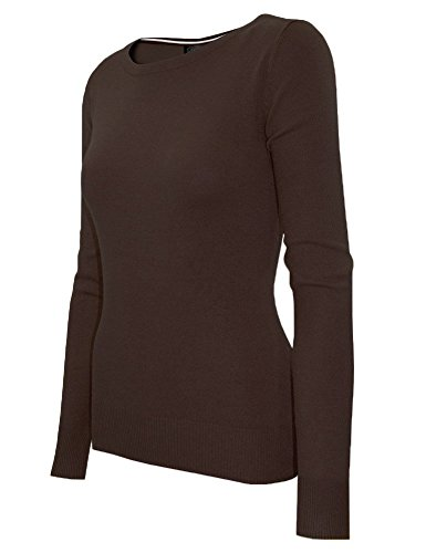 cielo-womens-preppy-classic-open-twist-knit-stretch-pullover-medium-sw460-brown