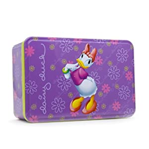 Daisy Duck By Disney 2pc Gift Set 1.7 Eau De Toilette,2.5oz Shower Gel / Tin Box