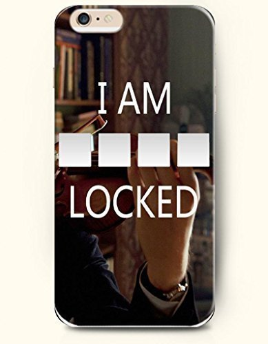 iPhone 6 Case,iPhone 6 Plus (5.5) Hard Case **NEW** Case with the Design of I AM LOCKED - ECO-Friendly Packaging - Case for iPhone iPhone 6 Plus (5.5) (2014) Verizon, AT&T Sprint, T-mobile (Iphone 6 Plus Locked At&t compare prices)