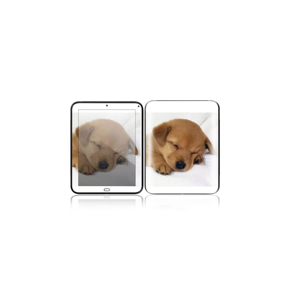 Animal Sleeping Puppy Design Decorative Skin Cover Decal Sticker for HP TouchPad 9.7 inch Tablet