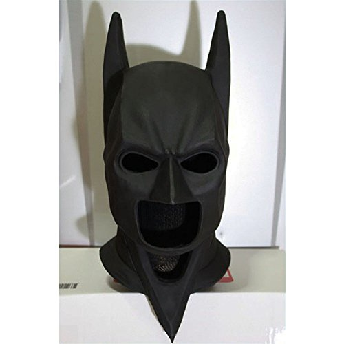 1:1 Custom Halloween Costume Cosplay Latex Batman The Dark Knight Rises Mask LA02