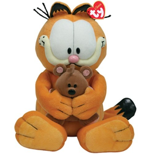 Ty Classic Garfield & Pooky BFF - Best Friends Forever!