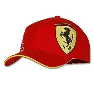 Fernando Alonso Casquette Ferrari