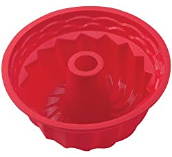 HIC Brands that Cook Essentials Silicone Deep Fluted Pan