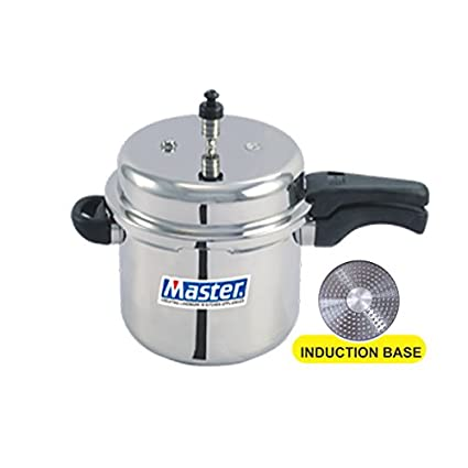 Master MPOLIB75 Aluminium 7.5 L Pressure Cooker (Induction Base, Outer Lid)