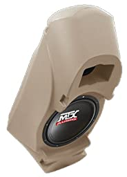MTX CS10ATT ThunderForm Custom Enclosure Subwoofer