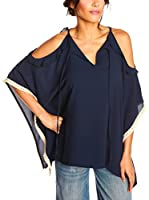 JUST SUCCES Blusa Camille (Azul Oscuro)