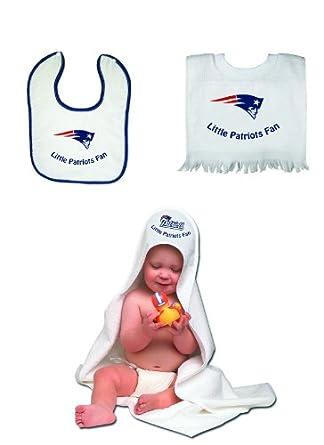 Buy McArthur New England Patriots Toddler Bib and Bath Set by cwatson