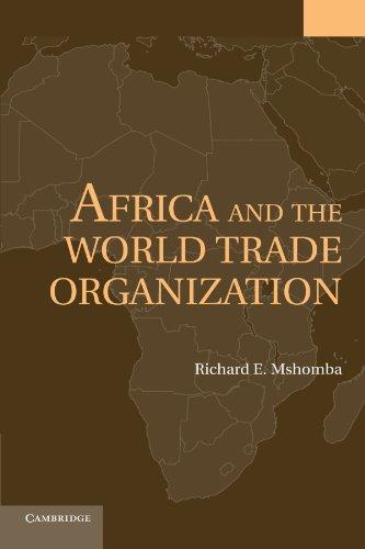 África y la Organización Mundial del comercio