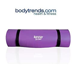 "Aeromat Pilates/Yoga Mat 3/8"" Extra Thick, Purple"