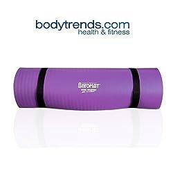 "Aeromat Pilates/Yoga Mat 3/8"" Extra Thick, Purple"