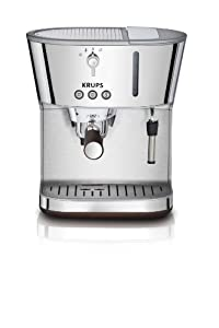 KRUPS XP4600 Silver Art Collection Pump Espresso Machine with KRUPS Precise Tamp... by KRUPS