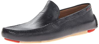 BOSS Black by Hugo Boss Men's Drinno Us Slip-On Loafer,Dark Blue,7 M US