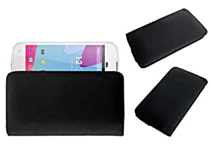 Acm Rich Leather Soft Case For Blu Neo 4.5 S330I Mobile Handpouch Cover Carry Black