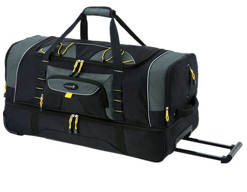 36-sierra-madre-collection-2-toned-travel-rolling-duffel-in-black-yellow