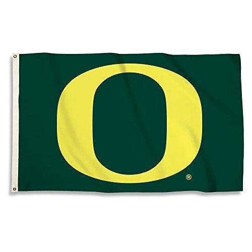 NCAA Oregon Ducks 3 x 5-Feet Flag with Grommets, Team Color, One Size