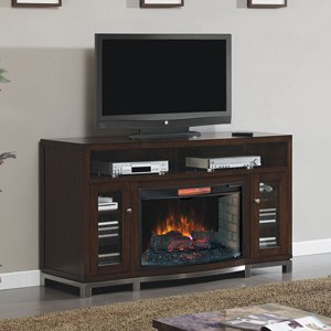 Classicflame Wesleyan Infrared Electric Fireplace Media Console In Meridian Cherry - 32Mm6439M-C247
