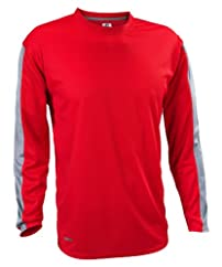 CLOSEOUT Russell Athletic Men's Dri-Power® Long-Sleeve Color Block Tee