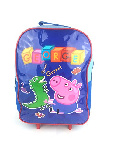official-peppa-pig-george-boys-kids-wheeled-case-luggage-suitcase-travel-bag