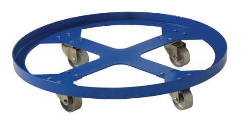 "Vestil Drum-Sp-28-12-C Steel Overpack Drum Dolly, 1200 Lbs Capacity, 28"" Id X 28-3/8"" Od"