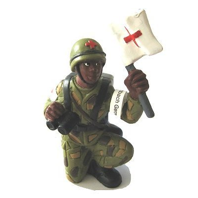 Bullyland - Nurse Soldier Figurine - French version