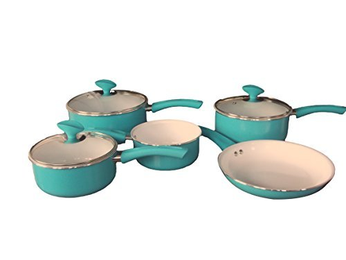 family-sized-duck-egg-5-piece-pan-set-non-stick-ceramic-interior-full-sized-set