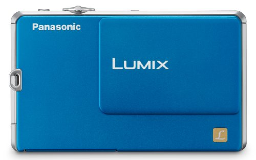 Panasonic Lumix DMC-FP1 12.1 MP Digital Camera with 4x Optical Image Stabilized Zoom and 2.7-Inch LCD (Blue)