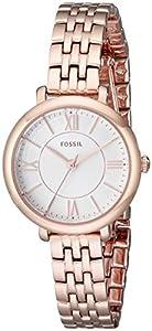 Fossil Women's ES3799 Jacqueline Small Analog Display Analog Quartz Rose Gold Watch