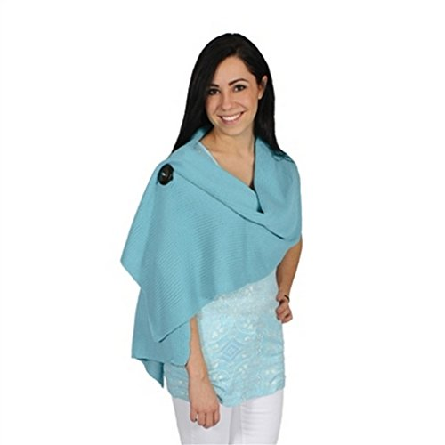 NOELLE Versatile Stylish Riverton Knit Wrap Shawl - Comfort for All Occasions (Sherbet)
