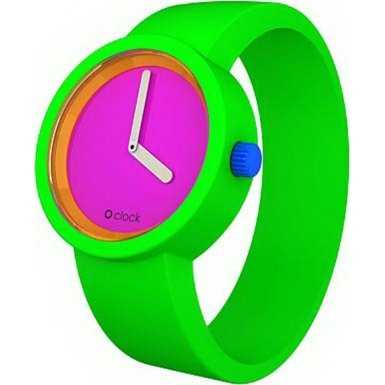 O Clock Watches special price: O clock OCFL03 8OCLOCK Fluorescent Green Watch