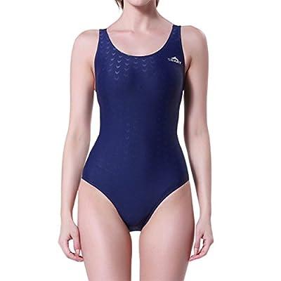LAPAYA Women's Racing Swimsuit Racerback Fitness Performance One Piece Swimwear