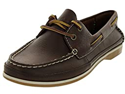 Clarks Women\'s Jetto Boat,Brown Leather,US 7.5 M