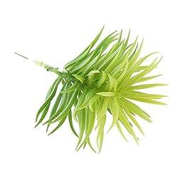 Magideal Artificial Succulent Green Foliage Lifelike Plastic Plants Home Decor 14cm