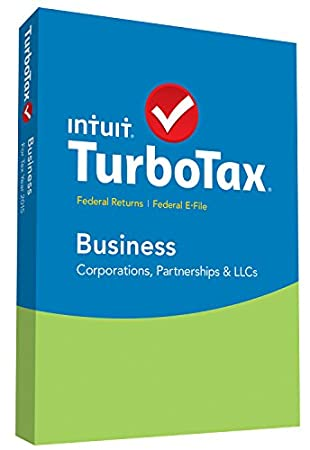 TurboTax Business 2015 Federal + Fed Efile Tax Preparation Software - PC Disc