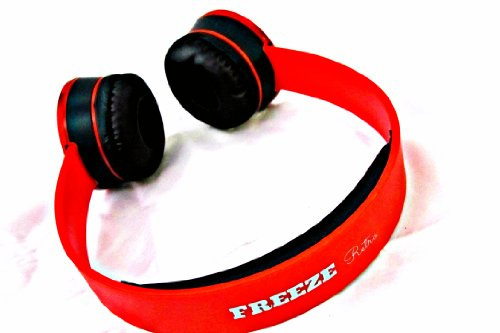 Freeze Retro I-Kool Freeze Series Headphone - New Retro Design (Candy Apple)