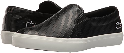 Lacoste Women's Gazon W 416 2 Caw Fashion Sneaker, Black, 7.5 M US