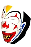 Joker Clown Neoprene Full Face Mask - Black