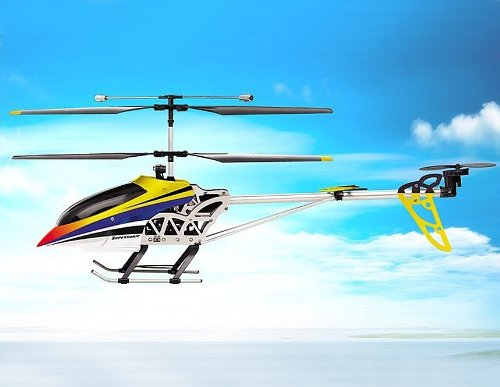 SongYang 8088-36 3 Channels RC Helicopter with Gyroscope (Yellow)