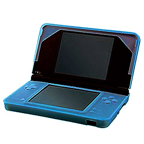 HDE Blue Silicone Rubber Skin Protective Shell for Nintendo DSi XL (Dsi Protective Case compare prices)