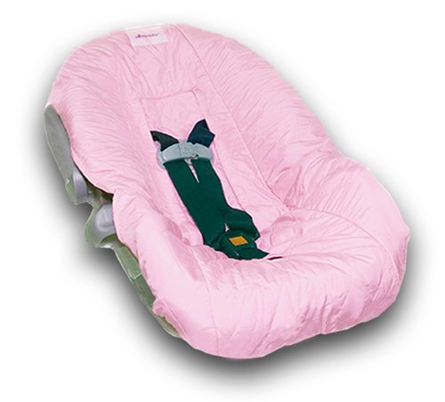 baby seat accessory nomie baby infant car seat cover pink seats for baby. Black Bedroom Furniture Sets. Home Design Ideas