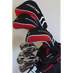 Tall Mens Golf Club Set Complete Driver, Fairway Wood, Hybrid, Irons, Sand Wedge,... by Precision Performance For Golf