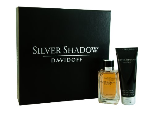 Davidoff Silver Shadow Eau De Toilette Gift Set for Men 50ml