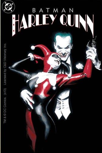 DC Comics Batman Joker with Harley Quinn Sticker at Gotham City Store
