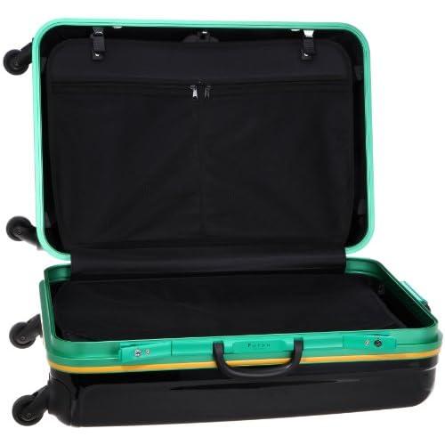 [フルボデザイン] Furbo design suitcase FB6006 BRZ (ブラック/グリン/イエロー)