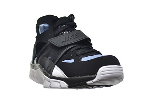 3fb712701bcc ... where to buy pictures of nike air trainer huarache mens shoes black  white cool blue 679083