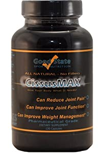 CissusMAX - Cissus Quadrangularis 750mg 120 Capsules