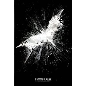 The Dark Knight Rises Movie Christian Bale Poster Print