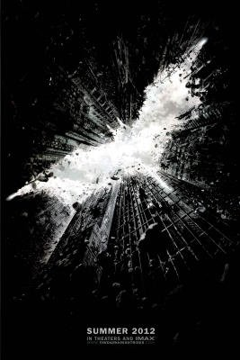 The Dark Knight Rises Movie Christian Bale Poster Print - 24x36