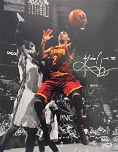 KYRIE IRVING SIGNED AUTHENTIC 16X20 PHOTO CLEVELAND CAVALIERS PSA DNA T93384 by KLF+Sports